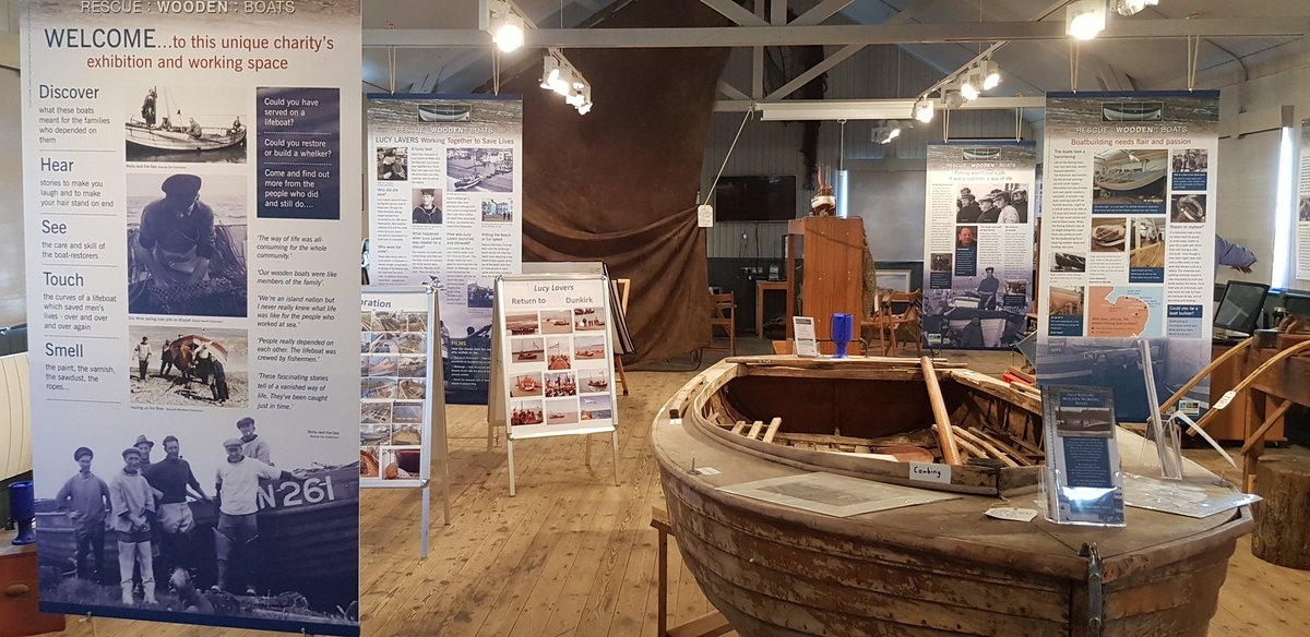 Rescue Wooden Boats Maritime Heritage Centre.